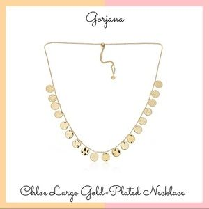 Gorjana Chloe Large GoldPlated Adjustable Necklace